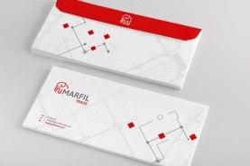 Letterhead Envelope marfil